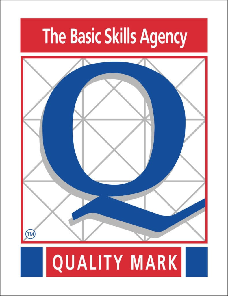 The Basic Skills Agency Quality Mark logo